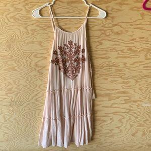 Blush sun dress